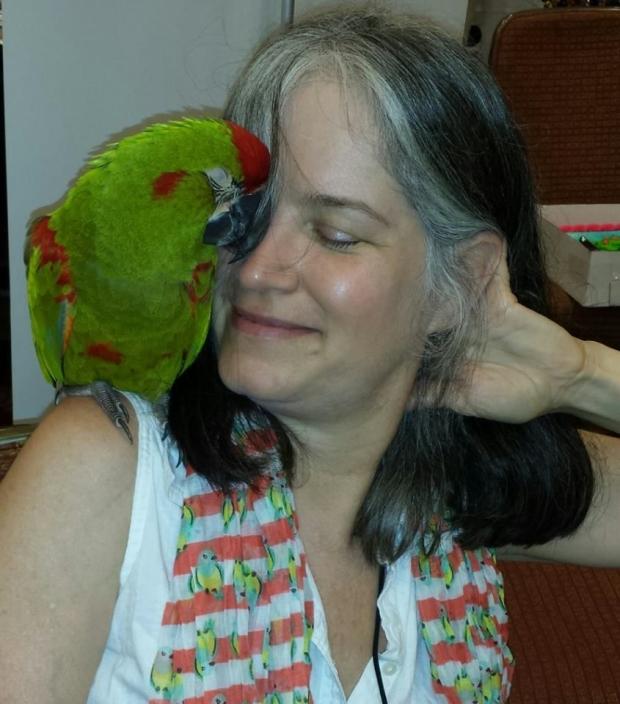 Dr. Lanette Raymond – Former President of The Long Island Parrot Society